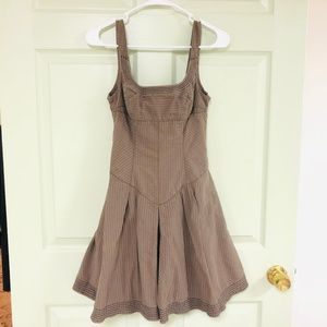 Free People | Brown Skater Dress Size 2